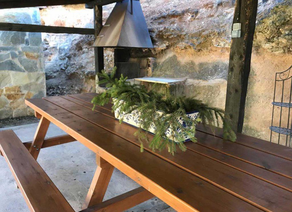 molino mesa Barbacoa